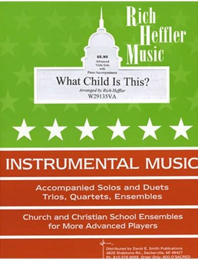Heffler, R.: What Child Is This?(viola & piano)