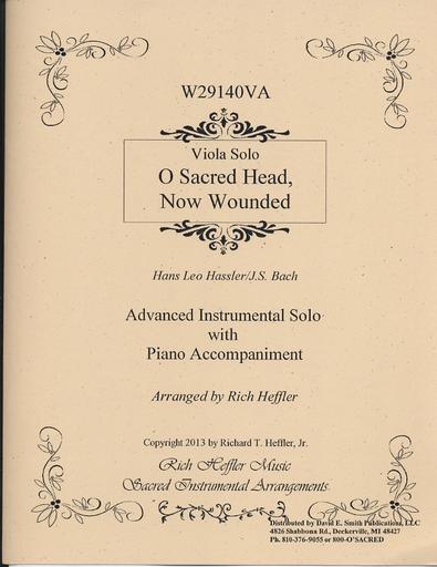 Hassler/Bach (Heffler): O Sacred Head, Now Wounded (viola & piano)