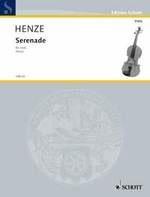 HAL LEONARD Henze, H.W.: Serenade (viola)