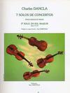 Carl Fischer Dancla, Charles: Concert Solo Op.77 #2 in G (violin & piano)