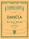 HAL LEONARD Dancla (Svecenski): 6 Airs Varies, Op. 89 (violin & piano) Schirmer