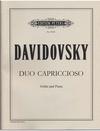 Davidovsky, Mario: Duo Capriccioso (violin & piano)