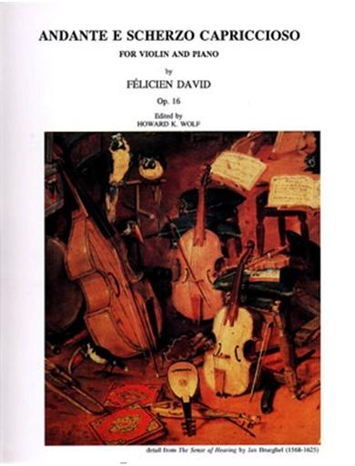 LudwigMasters David, Felicien: Andante e Scherzo capriccioso Op. 16 (violin & piano)