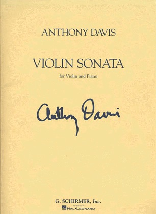 HAL LEONARD Davis, Anthony: Sonata 1991 (violin & piano)