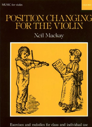 Oxford University Press Mackay, N.: Position Changing for Violin
