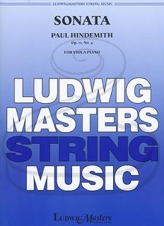 LudwigMasters Hindemith: Sonata No.4, Op.11 (viola & piano) LudwigMasters
