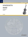 HAL LEONARD Hindemith, P. : Solo Sonata No.1, Op. 25 (viola)