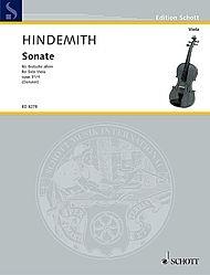 HAL LEONARD Hindemith, Paul: Solo Sonata Op31#4 (viola)