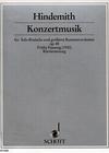 Hindemith, Paul: Viola Concerto Op.48 (viola & piano)
