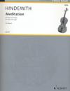 HAL LEONARD Hindemith, P. (Breuer, arr.): Meditation from Nobilissima Visione (viola and organ)