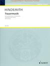 Hindemith, Paul: Trauermusik (violin & piano)(viola & piano)(cello & piano)