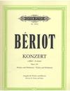 Beriot, Ch.: Concerto No. 9 in a minor Op.104 (Violin & Piano)