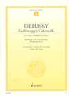 HAL LEONARD Debussy, C. (Birtel): Golliwogg's Cakewalk from Children's Corner (violin, and piano)