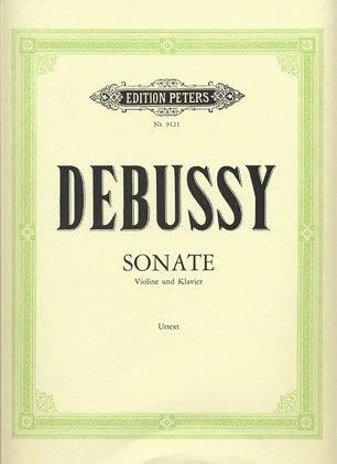 Debussy, Claude: Sonate (violin & piano)