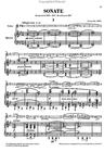 HAL LEONARD Debussy (Heinemann): Sonata for Violin & Piano - URTEXT (violin & piano) Henle