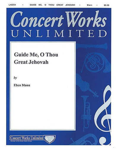 Mann, Eban: Guide Me, O Thou Great Jehovah (violin & piano)