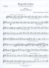 Carl Fischer Manas, Adriana Isabel Figueroa: Rhapsodia Andina (violin & piano)