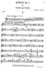 HAL LEONARD Martinu, B. : Sonata No. 3 (Violin & Piano)