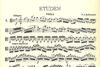 Hoffmeister, F.A.: Etudes for Viola