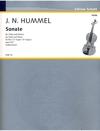 HAL LEONARD Hummel, J.N.: Viola Sonata in E flat, Op. 5 No. 3