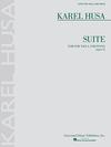HAL LEONARD Husa, Karel: Suite for Viola & Piano, Op. 5