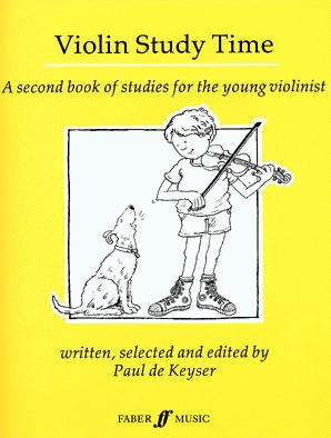 De Keyser, Paul: Violin Study Time (violin)