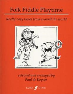 HAL LEONARD De Keyser: Folk Fiddle Playtime - Really Easy Tunes from Around the World (violin)