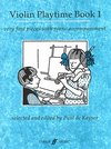 De Keyser, Paul: Violin Playtime 1-very first pieces (violin & piano)