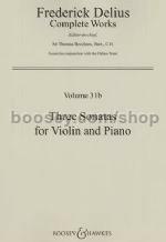 HAL LEONARD Delius, F.: Three Sonatas (Violin & Piano)