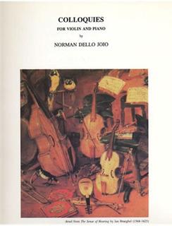 LudwigMasters Dello Joio, Norman: Colloquies (violin & piano)