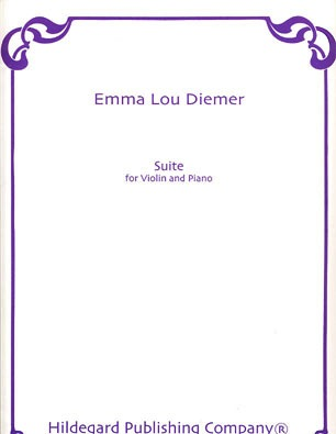 Carl Fischer Diemer, Emma Lou: Suite for Violin & Piano