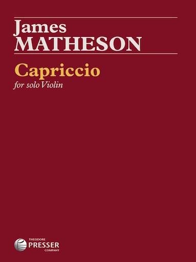 Carl Fischer Matheson: Capriccio (violin)