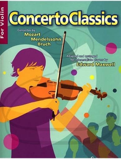 HAL LEONARD Maxwell: (Collection) Concerto Classics (violin & piano) Boosey & Hawkes