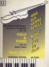 Carl Fischer Janosi (editor): What I Like to Play; Very Easy Arrangements (viola and piano)