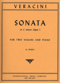 International Music Company Veracini, F.M.: Sonata in C minor Op.1 (2 violins & piano)