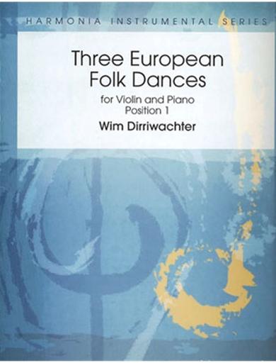 HAL LEONARD Dirriwachter, Wim: Three European Folk Dances-position 1-(violin & piano)