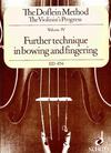Doflein: The Doflein Method-bowing & fingering Vol.4 (violin)