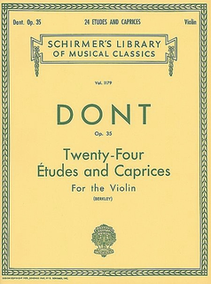 Schirmer Dont, Jakob (Berkley): 24 Etudes & Caprices, Op.35 (violin)