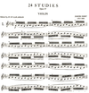 International Music Company Dont, Jakob (Galamian): 24 Studies, Op.37, Preparatory to Kreutzer & Rode (violin)