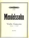 Mendelssohn (Menuhin): Violin Concerto in D minor (violin & piano)