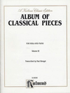 Alfred Music Klengel: Classical Pieces Vol. 3 (viola & piano)