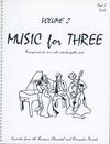 Last Resort Music Publishing Kelley, Daniel: Music for Three Vol.2 Favorites from the Baroque, Classical & Romantic Periods (viola)
