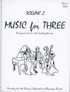 Last Resort Music Publishing Kelley, Daniel: Music for Three Vol.2 Favorites from the Baroque, Classical & Romantic Periods (viola)