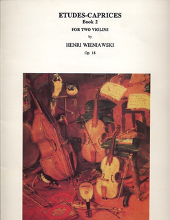 LudwigMasters Wieniawski, Henri: Etudes-Caprices Op.18 Book 2 (2 Violins in score)