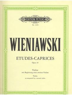 C.F. Peters Wieniawski, Henri (Sitt): Etudes-Caprices Op.18 (2 Violins)