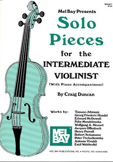Mel Bay Duncan, Craig: Solo Pieces for the Intermediate Violinist (violin & piano)