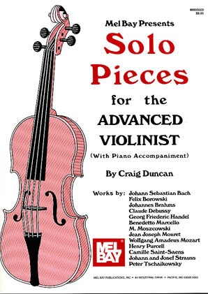 Mel Bay Duncan, Craig: Solo Pieces for the Advanced Violinist (violin & piano)