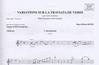 Carl Fischer Dupin, Marc-Olivier: Variations sur la Traviata de Verdi (violin & piano)