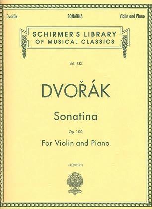 HAL LEONARD Dvorak, Antonin: Sonatina Op.100 (violin & piano)