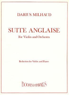 HAL LEONARD Milhaud, D.: Suite Anglaise (violin & piano)